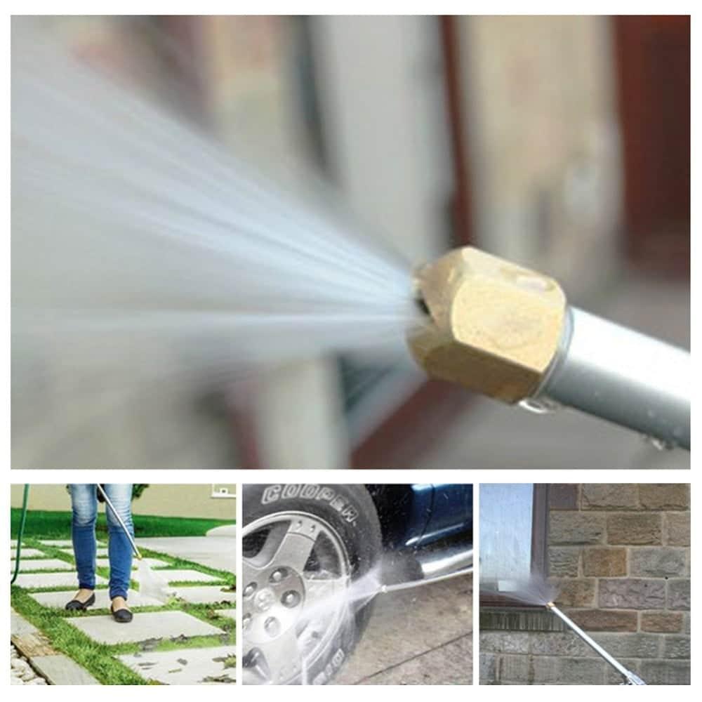 Jato d'água de Alta Pressão para Lavagem de Carro Jardim Calçada Casa