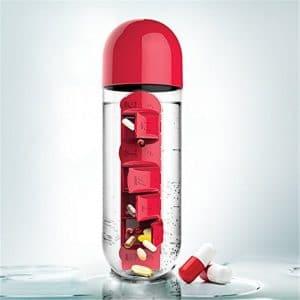 Garrafa de Água e Pílulas Medical7